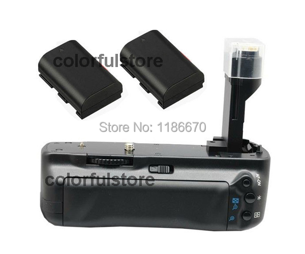 FREE SHIP+TRACK Vertical Battery Hand Grip For Canon EOS 5D Mark II 2 5DII 5D2 DSLR Camera + 2 x LP-E6 battery, replace of BG-E6 freeship new arrival vertical battery hand grip for canon eos 350d 400d rebel xt xti slr camera battery charger replace of bg e3