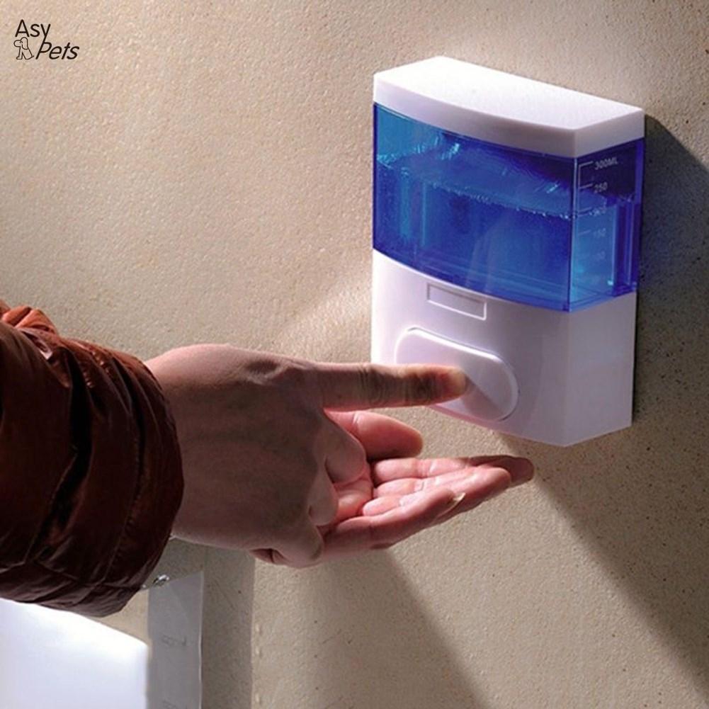 LumiParty Kunststoff Große Frühling Seife Spender Hand Wand Montiert Hand Sterilisator Flüssigkeit Box Bad Pumpe-40