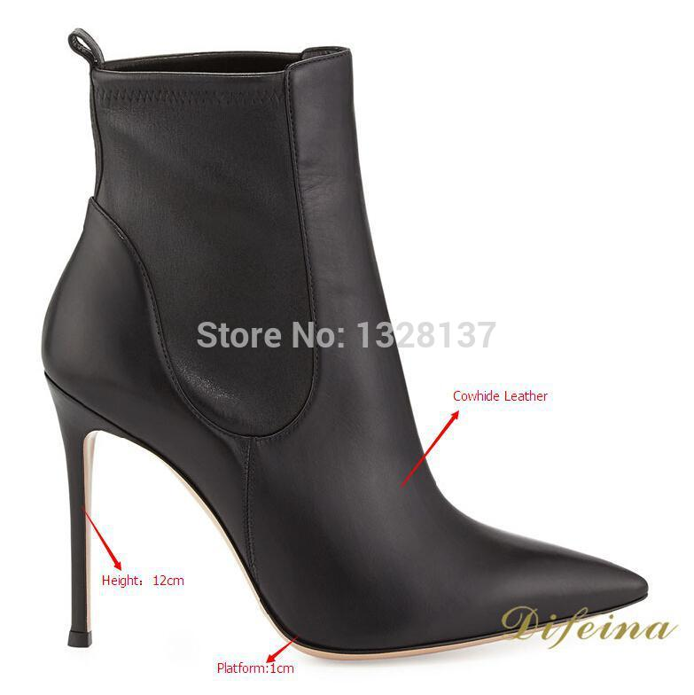 Popular Genuine Leather High Heel Boots-Buy Cheap Genuine Leather ...