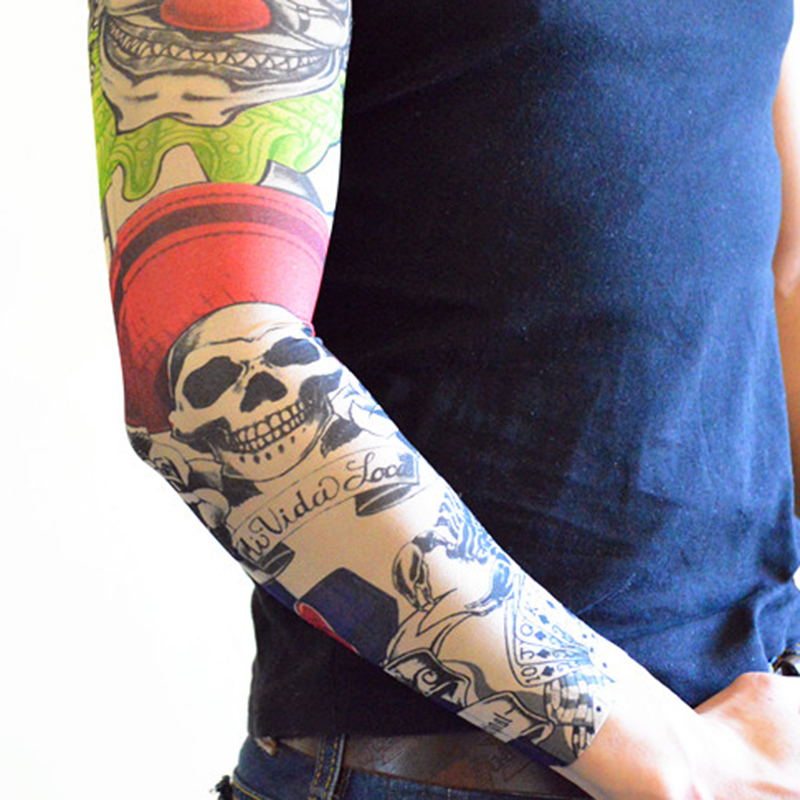 Men's Arm Warmers Mens Seam Tattoo Sleeves Women Tattoo Arm Sleeves Fake Tattoo Sleeves Body Art For Adults Leg Stockings 500pcs Neither Too Hard Nor Too Soft