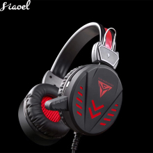 Gaming Headset Deep Bass Game Earphone Professional Computer Gamer Headphone With HD Microphone for Computer headphone with mic microphone hifi sound deep bass gaming headset game earphone for pc phone