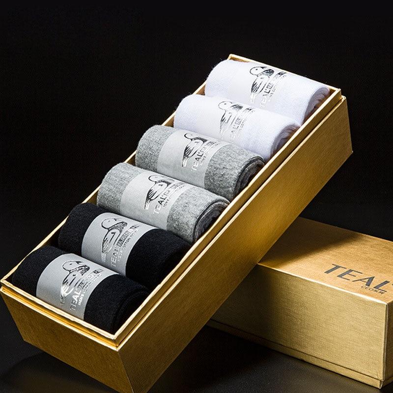 2017 New Mens Socks Nano Silver Deodorant Cotton Antibacterial Sock Funny Art Happy Healthy Breathable Crew Business Men Socks