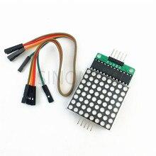Дисплей модуль MAX7219 точечно-матричный модуль, блок управления микроконтроллерный модуль