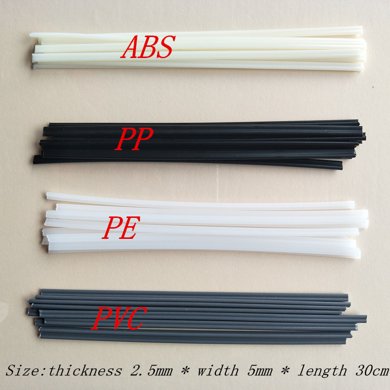 40PCS plastic welding electrode, PP electrode, PE electrode, PVC electrode, ABS electrode, automobile bumper welding rod / wire injection mold for pp automobile bumper
