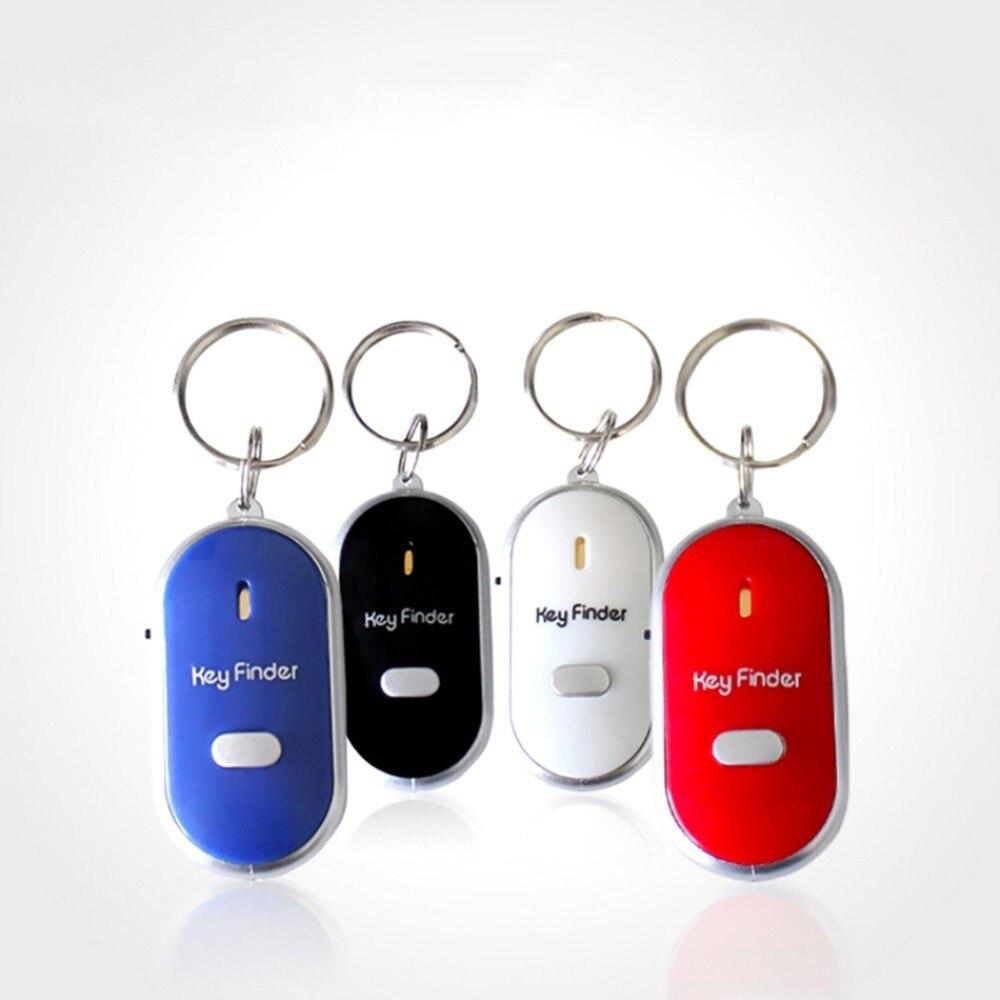 Anti-verloren Whistle Key Finder Wireless Blinkende Piepen Kinder Schlüssel Tasche Locators Kind Alarm Erinnerung Key Finder Remote Controler Klar Und GroßArtig In Der Art