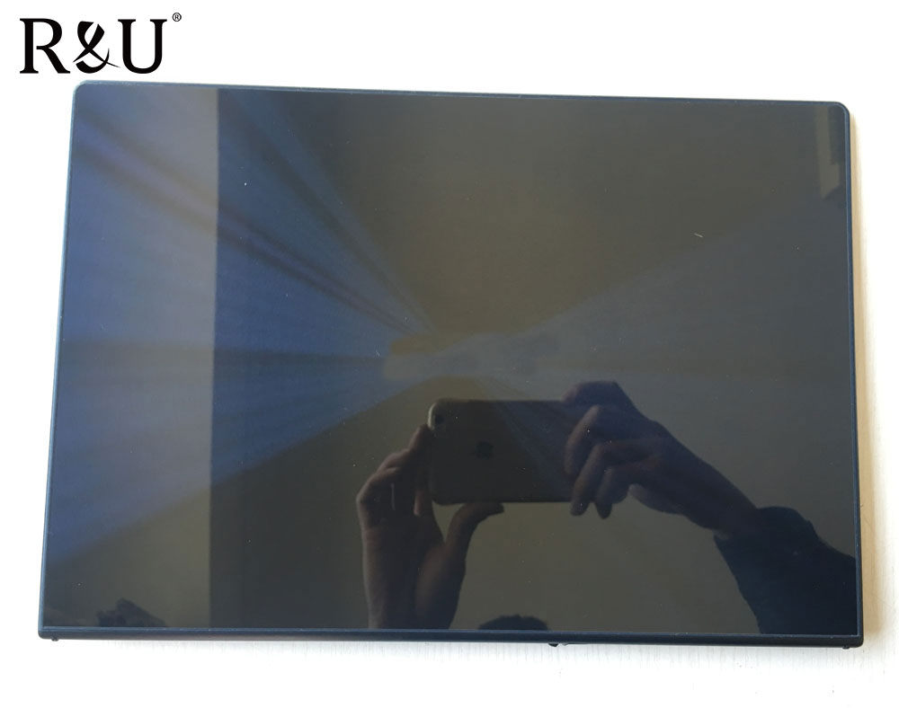 R&U HW13FHD303-21 lcd screen display with touch screen assembly Upper Half Part For Asus zeenbook UX302 UX302LG UX302LA