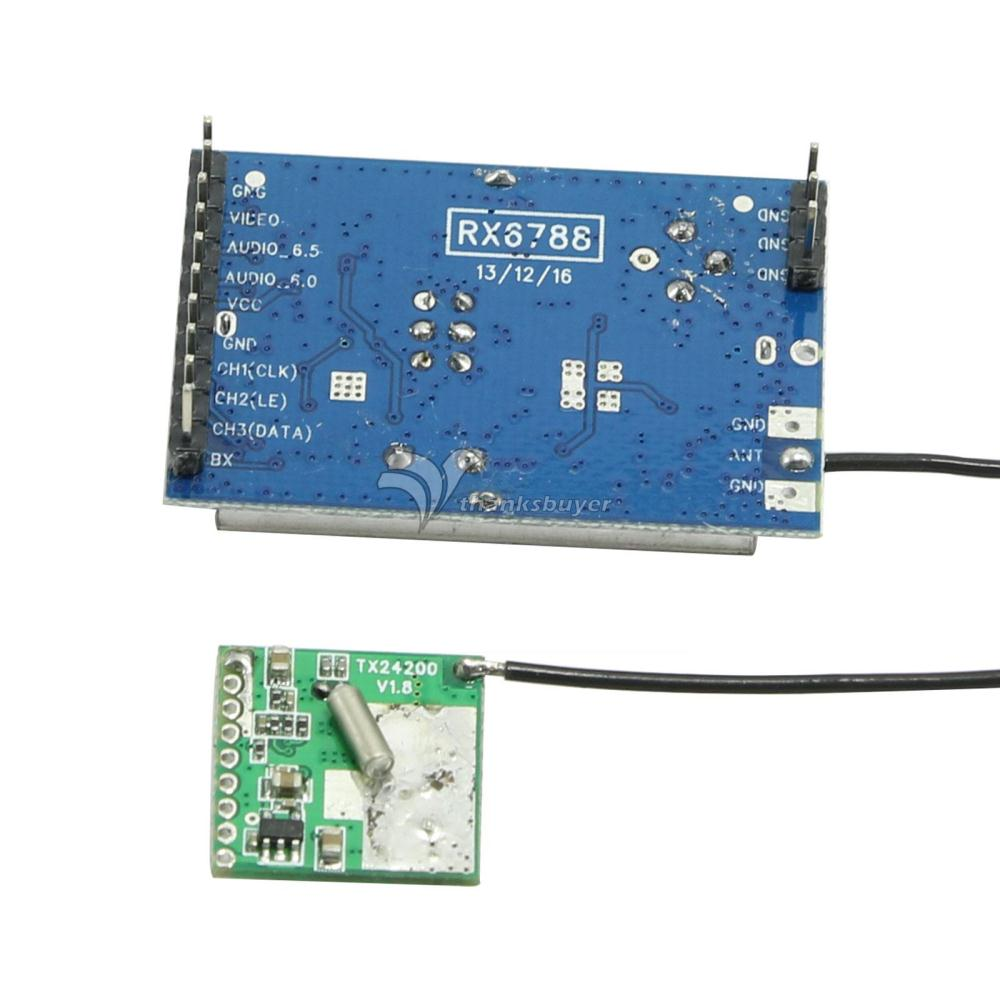 Fpv Video Stereo Audio Av 200mw 24ghz Wireless Transmitter Module Receiver In Flight Controller From Consumer Electronics On Alibaba