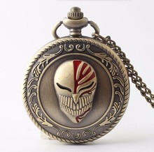 Bleach pattern Bronze Pendant Pocke watch.size 47mm