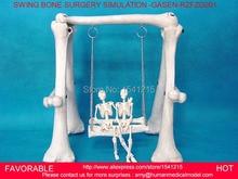 SURGERY MEDICAL-PVC SWING COMBINATION OF HIGH-QUALITY HUMAN SKELETON BONE GASEN-RZFZG001