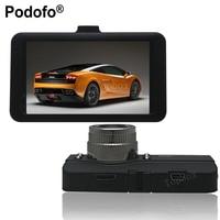 Podofo Novatek 96223 Car DVR 3 Inch Full HD Dash Cam Camcorder 170 Degree Wide Angle WDR G Sensor Night Vision Car Camera