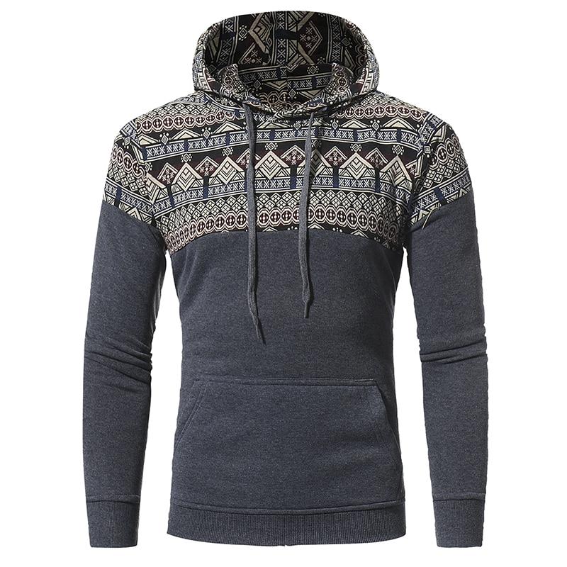 Brand 2017 Hoodie Design Of Retro National Winds Hoodies Men Fashion Tracksuit Male Sweatshirt Off White Hoody Mens Purpose Tour
