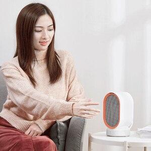 Image 5 - Youpin Viomi chauffage électrique Mini ventilateur chauffage bureau chaud/froid vent modèle Portable bureau plus chaud Machine hiver maison bureau