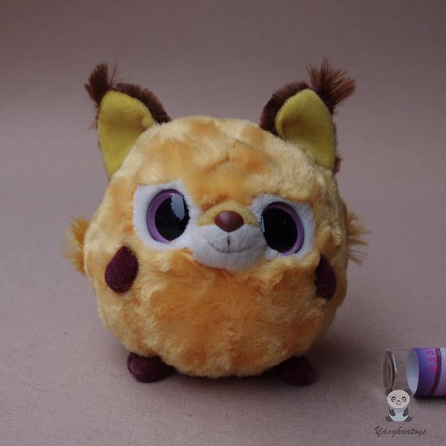 Cute Big Eyes Animal Ball Lynx Doll Plush Toy Children Birthday Gifts Toys Stores