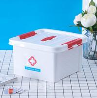 BBJ106 Free Shipping 3M Plastic Household Medicine Box First Aid Kit Small Medicine Box Baby Infant
