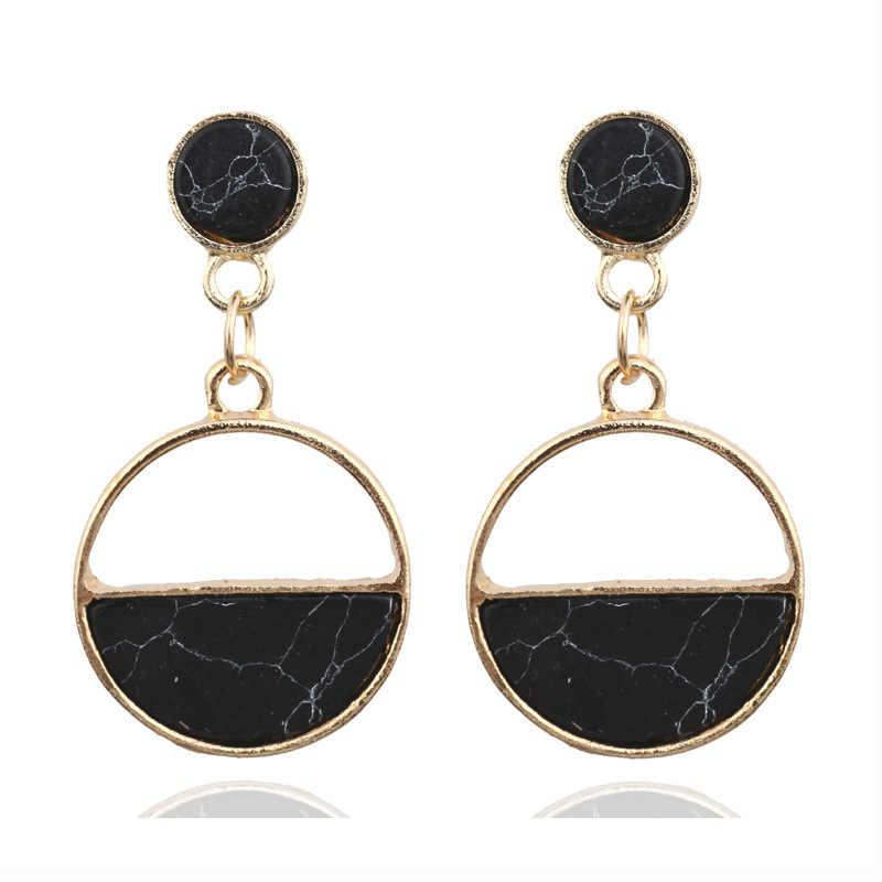 Fashion Statement Earrings 2018 Big Geometric earrings For Women Hanging Dangle Earrings Drop Earing exaggeration party Jewelry