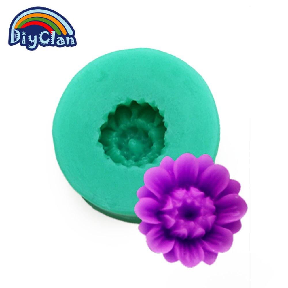 Φ_ΦDIY moldes de silicona para la torta de decoración de jabón ...
