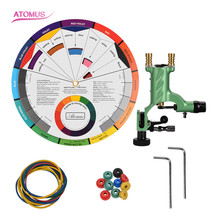 Professional Permanent De Tatuaje Beginner Maquillaje Kit Tattoo Equipment Machine Set Rotary Permanente Principiante Maquinas