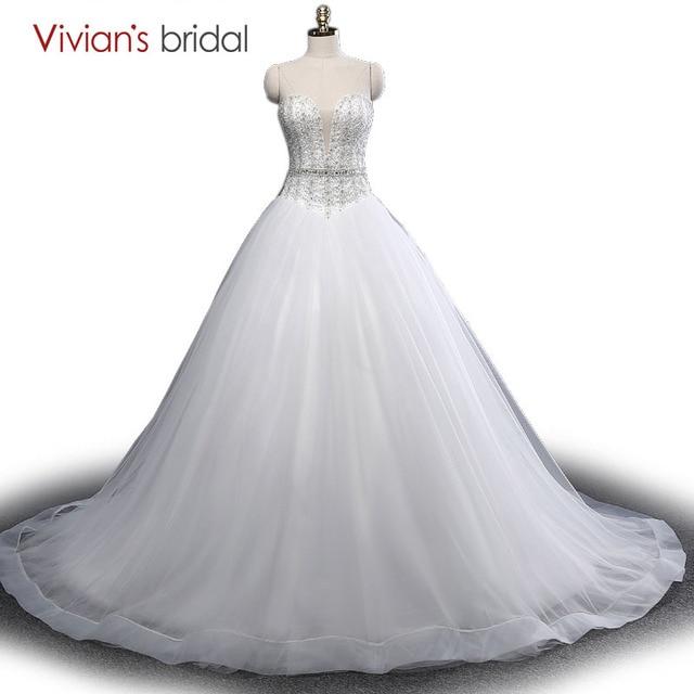 Vivian der Braut Sexy Luxus Ballkleid Brautkleider Prinzessin ...