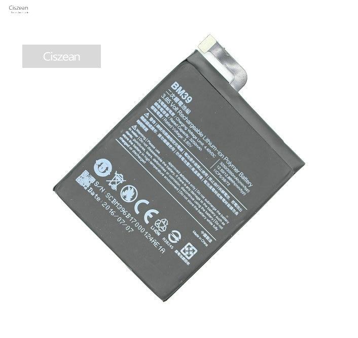 Ciszean Li-Polymer-Battery Replacement Batteria Mobile-Phone Xiaomi 3250mah 1pcs