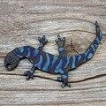 1 шт. титановый сплав Gecko Открывалка для бутылок Самозащита брелок Подвеска для ключей Открытый Отдых EDC карманный многофункциональный инст...