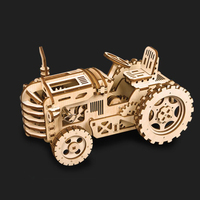 3 Kinds Wooden Toys Educational Toys DIY Laser Cutting 3D Puzzle Game Assembly Toy Puzzles For Kids Wooden Puzzle Gift