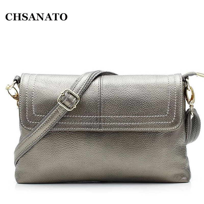 2018 Fashion Genuine Leather Women Messenger Bag Cowhide Shoulder Bag Women Satchels Crossbody Bag bolsa feminina fashion leather women messenger bag cowhide shoulder bag women satchels crossbody bag bolsa feminina