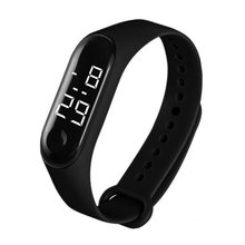 New M3 Fashion Student Couple Led Casual Sports Touch Electronic Watch Millet 3 Bracelet Watch Trend Fashion Mesh Belt Watch
