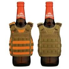 Тактический Премиум Пиво военный Молл Мини Миниатюрный охотничий жилет охладитель напитков регулируемые плечевые ремни LY2074
