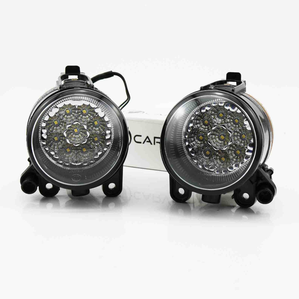 For VW Golf 5 2004 2005 2006 2007 2008 2009 High Quality 9 LED Front Fog Lamp Fog Light for vw golf 5 2004 2005 2006 2007 2008 2009 high quality 9 led left side front fog lamp fog light