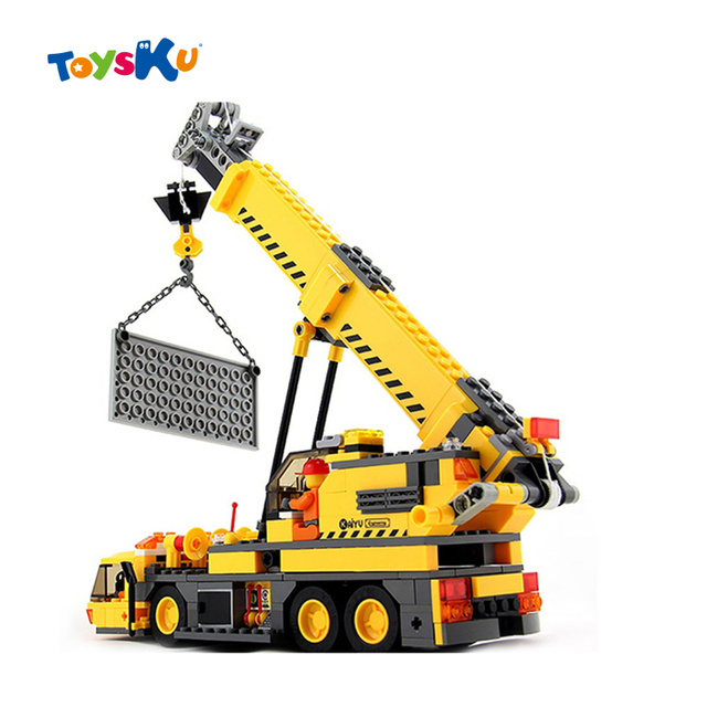 City Construction Toys Crane  Modle Building Blocks ,380pcs Educational toys