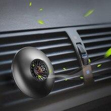 Mini círculo ambientador con clip de montaje para coche de ventilación de coche aromaterapia difusor de fragancia ambientador de coche Perfume