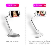 Types Mobile Phone Stand Flexible Tablets Suit for Universal Phone Holder Mount Bracket Use In Bedroom Kitchen Office