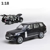 Высокая моделирования range rover Модель автомобиля 1:18 advanced сплав коллекция игрушка автомобиля, литья под давлением Металл Модель, 6 открытых дв