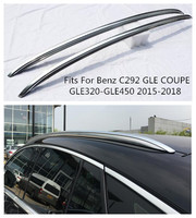 High Quality Aluminum Alloy Car Roof Racks Luggage Fits For Benz C292 GLE COUPE GLE320 GLE450 GLE AMG 2015 2018 BY EMS
