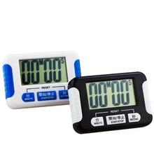 Gran pantalla de temporizador de cocina/alarma Electrónica Temporizador de Intervalos Segmento Cronómetro Cronógrafo Deportes Yoga GIMNASIO de Boxeo entrenamientos temporizador