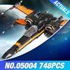 Star Wars 2016 LEPIN 05001 Starwars Force Awakens Rey S Speeder Assembled Building Blocks MiniFigures Compatible
