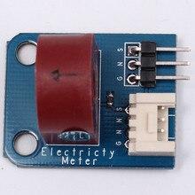 Переменного тока Сенсор трансформатор тока 5A аналоговый счетчик электроэнергии для Arduino