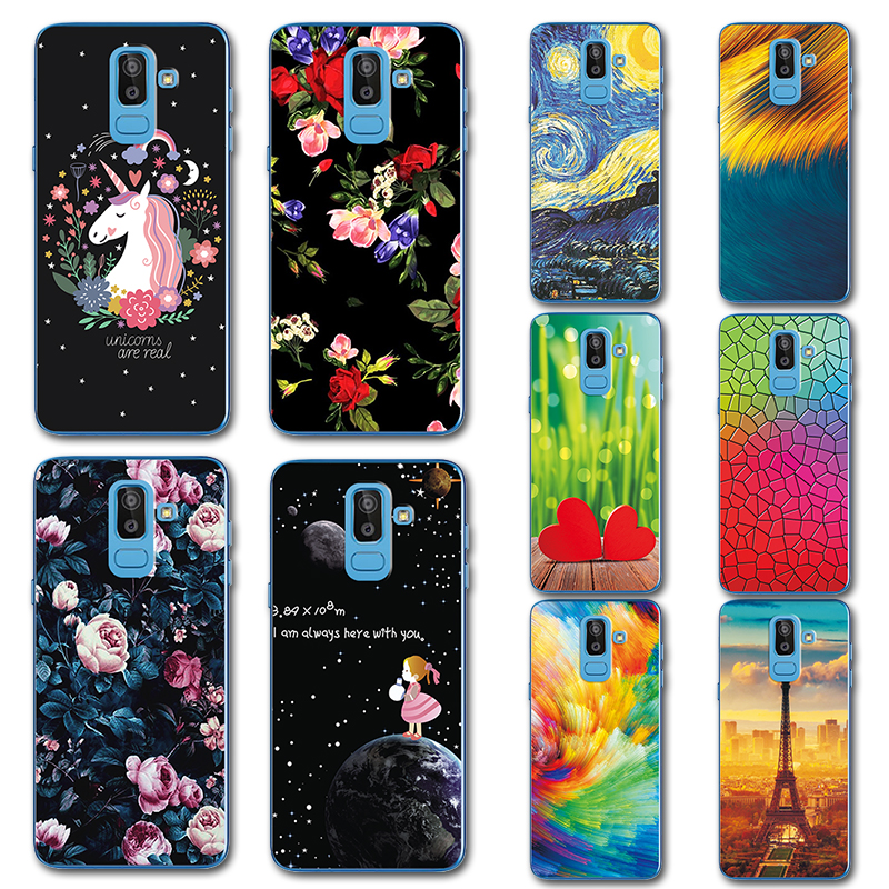 Phone Bags & Cases Cute Little Horse Phone Case For Samsung Galaxy J8 2018 Novelty Flowers Painted Tpu Case For Samsung J8 2018 Cover Sm-j800f 6 Skillful Manufacture Cellphones & Telecommunications