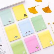 Kawaii блокноты для записей квадратные выдвижные Стикеры многофункциональные
