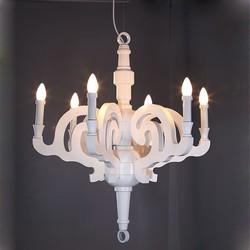 Moddern LED 6 światła żelazny żyrandol z 6 światła 30-40 w darmowa wysyłka