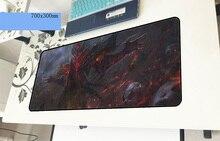 Dota геймерский коврик для мыши большой 700x300x3 мм игровой коврик для мыши большой ноутбук превосходного качества аксессуары для ПК ноутбук padmouse эргономичный коврик