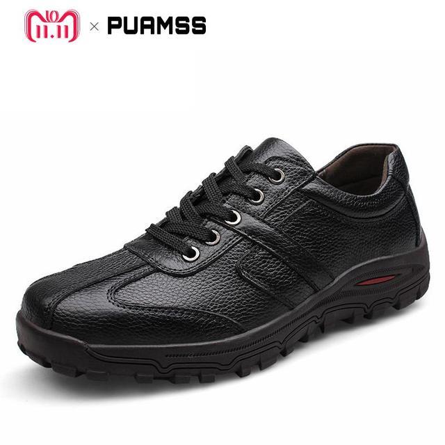 Marke Männer Casual Schuhe Aus Echtem Leder Männer Wohnungen Weiche Oxford Schuhe Outdoor Top Qualität Männer Formale Schuhe Plus Größe 46 47 48