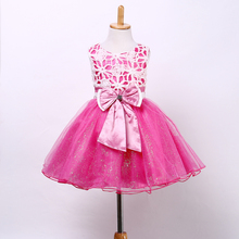 KIDS GIRLS SUMMER HOT OCCASION/PARTY TUTU DRESS BRIDESMAID LACE Dress AGE 2-12YRS