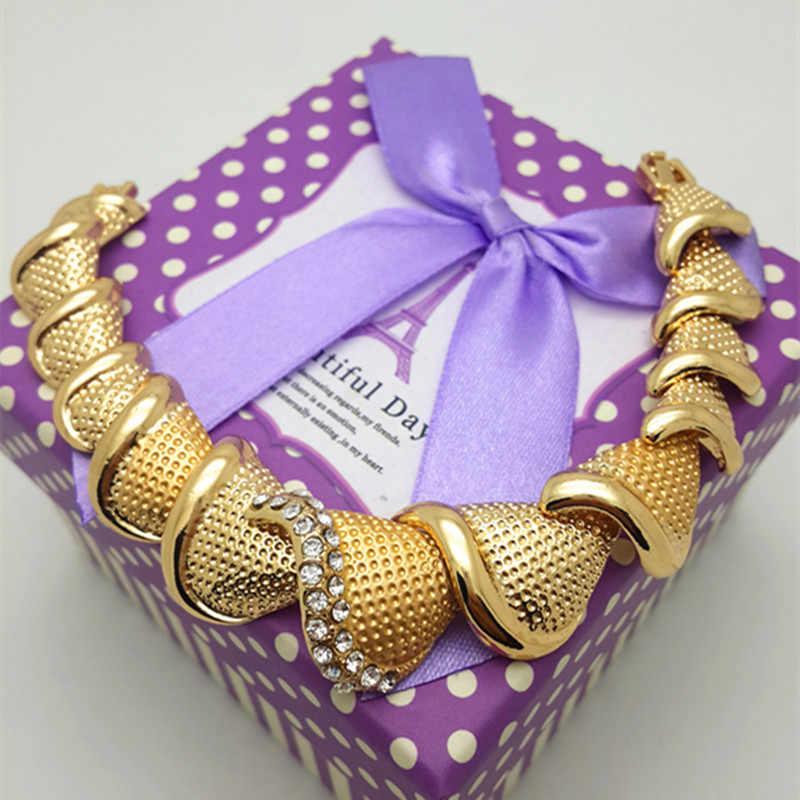 ZuoDi Dubai Vàng Đầy Màu Sắc Pha Lê Trang Sức Set Nhãn Hiệu Nigeria Cưới Trang Sức Set khách hàng Bán Buôn thiết kế Beads Phi Jewelry