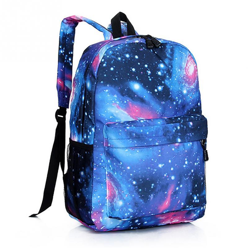 Multicolor mulheres elegantes mochila 3d galaxy star universo espaço mochila  meninas escola backbag mochila feminina 2f71c6dec8