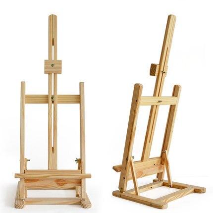 table en pin chevalet de table en bois peinture l 39 huile cadre enfants croquis chevalet en bois. Black Bedroom Furniture Sets. Home Design Ideas