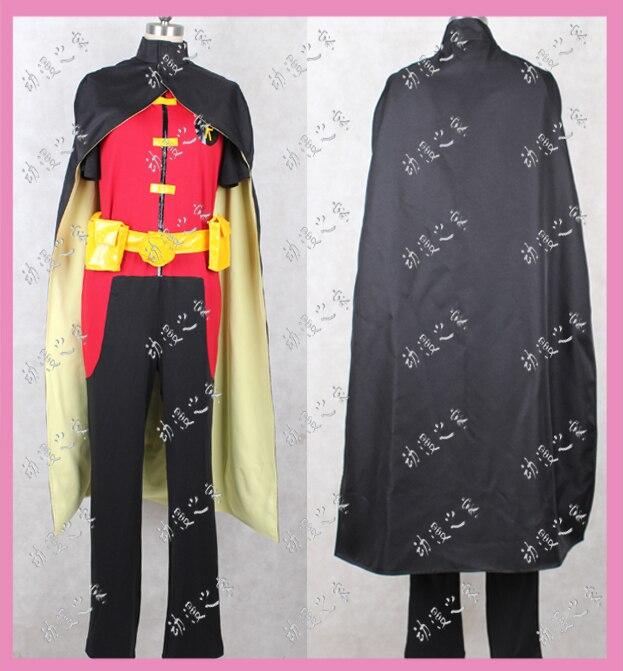 Новое поступление Бэтмен Молодые юстиции Робин Косплэй костюм наряд индивидуальный заказ