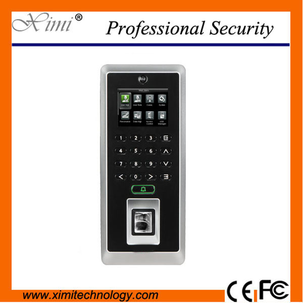 Fingerprint Access Control F21 zk Biometric Time Recording Door Access Control System gprs real time fingerprint access guard tour system