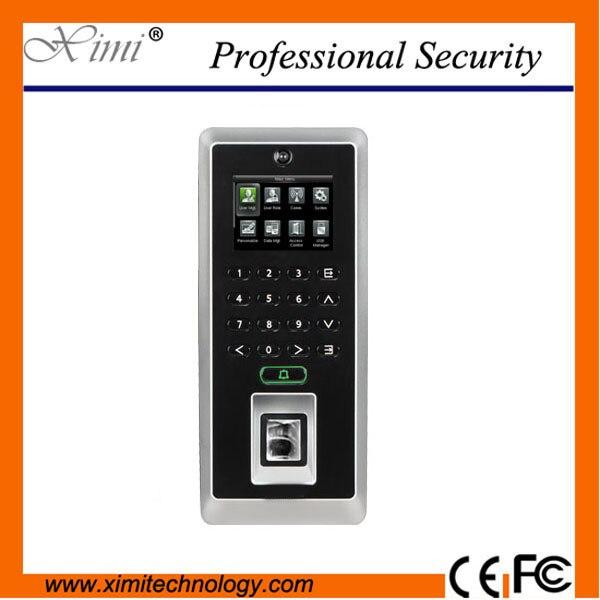 Fingerprint Access Control F21 zk Biometric Time Recording Door Access Control System