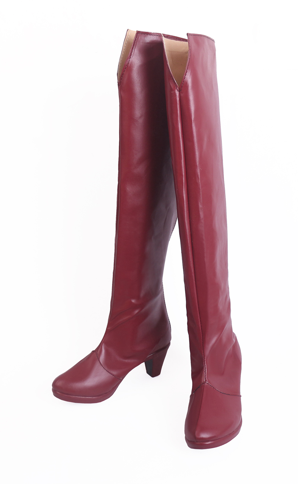 Black Clover Quartet Knights Vanessa Enoteca Cosplay Boots Red Shoes (4)